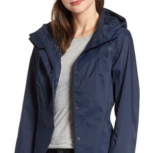 City Midi Waterproof Trench Raincoat NORTH FACE